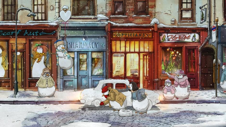 Celeste sings original song on this year's John Lewis Christmas advert