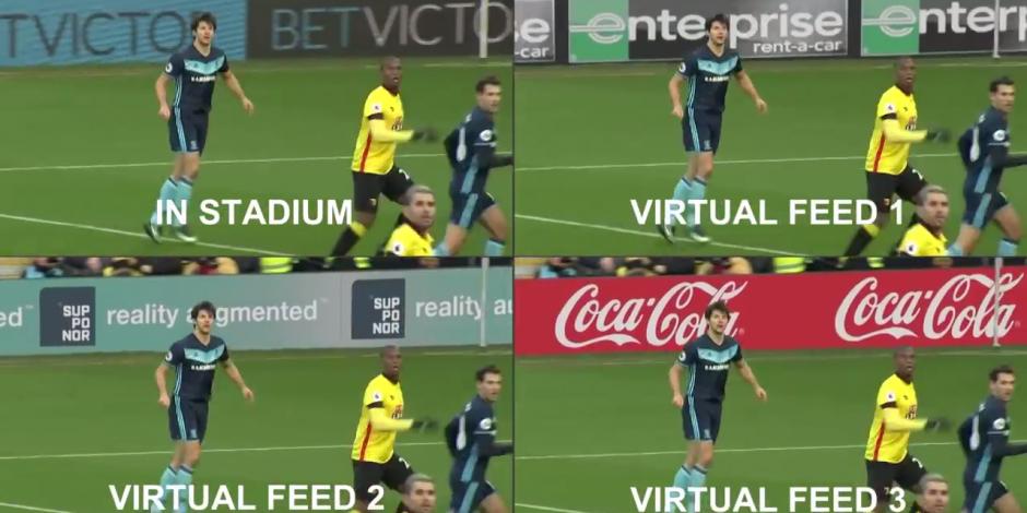 Lagardère helps Bundesliga tailor stadium perimeter ads on TV using AR