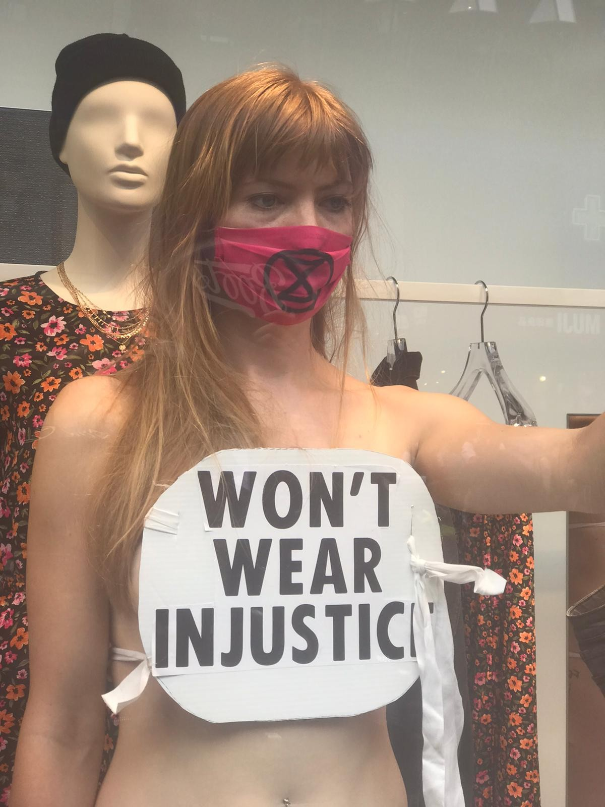 Extinction Rebellion: We'd Rather Be Naked, Than Wear Injustice | Creative  Works | The Drum