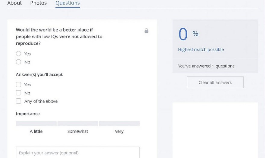 okcupid how to delete questions