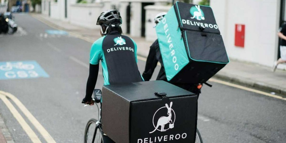 Ocado, Deliveroo and Just Eat crowned fastest-growing UK brands