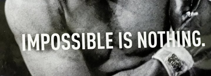 2004: Adidas creates 'Impossible is Nothing' campaign