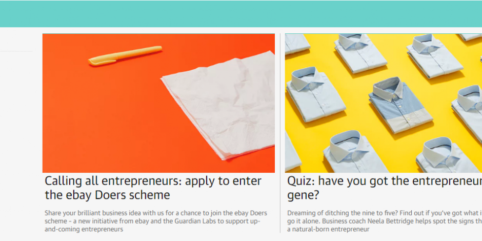 Guardian Labs And Ebay Collaborate To Empower Entrepreneurs Through Do Your Thing Campaign The Drum