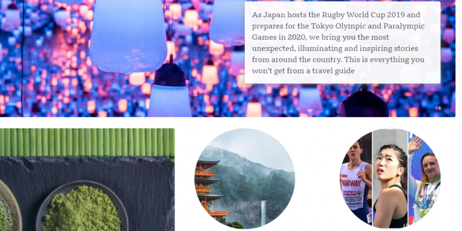 BBC News rolls out 'Japan 2020' content hub ahead of the Tokyo Olympics