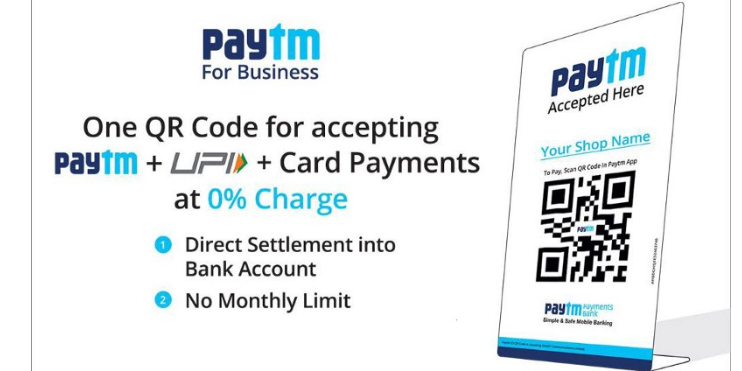 Paytm makes push for QR code as primary mode for digital payments in
