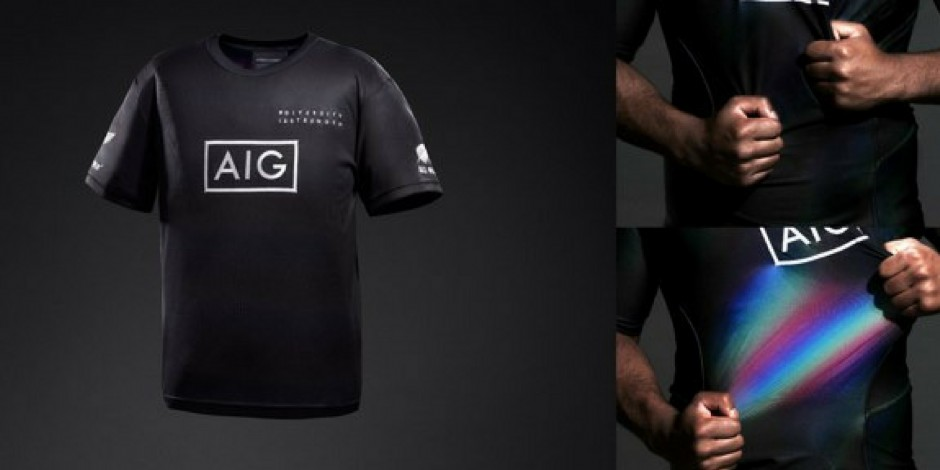17457d7bd98 Ad of the Day: AIG promotes diversity in Japan through colourful All Blacks  jerseys