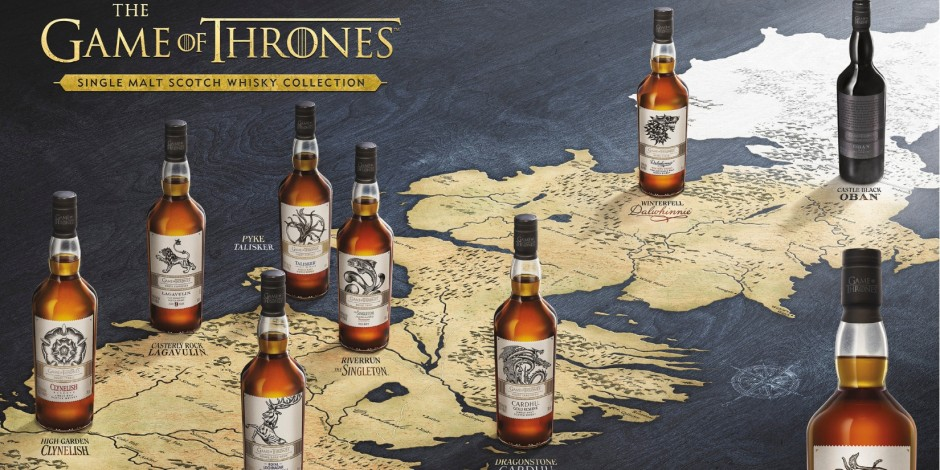 Game of Thrones whiskies released by HBO and Diageo as final series nears