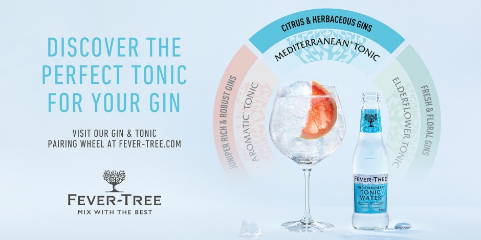 Fever-Tree helps UK drinkers perfectly pair their G&Ts this summer