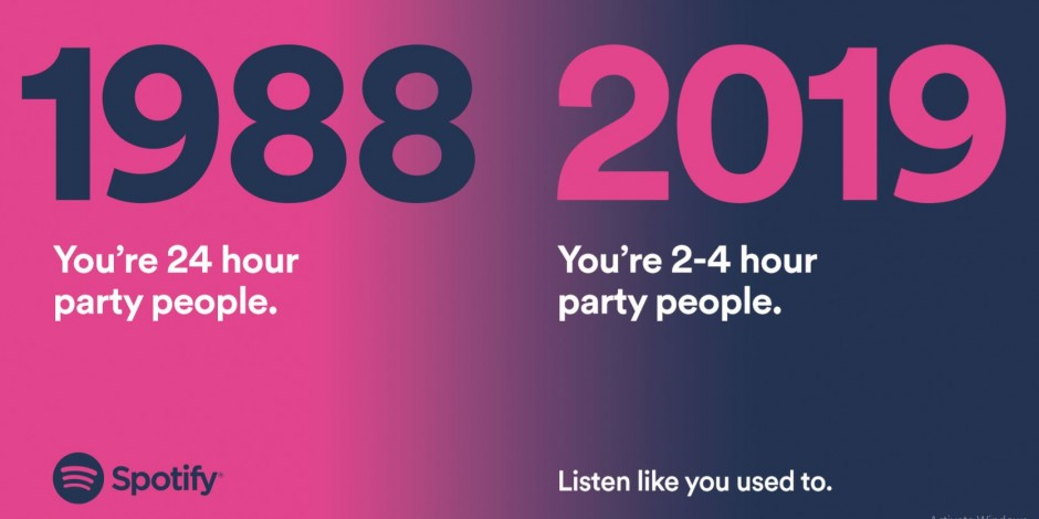 Ads We Like: Spotify's quirky ads get 80s and 90s nostalgic while aging appropriately