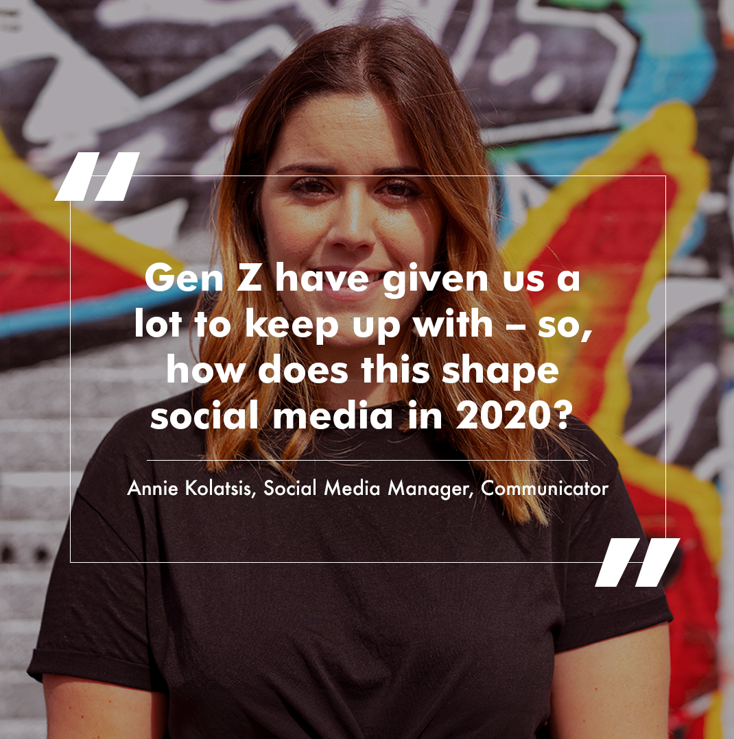 The future of social media is changing and it's all thanks to Generation Z