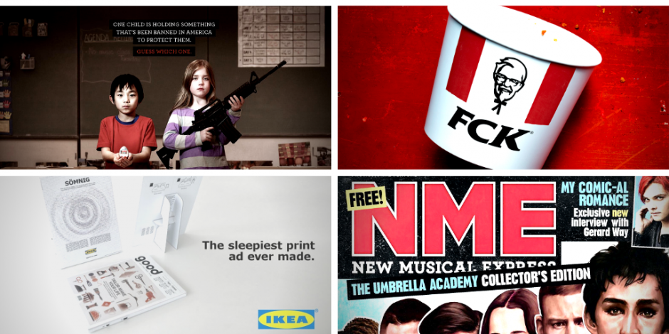 10 Top Creative Print Ads Featuring Kfc Ikea Absolut And More The Drum