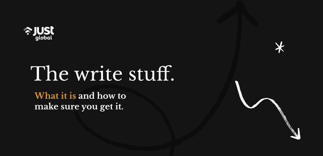 The Write Stuff: everything a non-writer needs to know about content creation