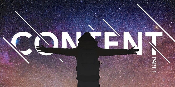 Content strategy: saddling shooting stars and avoiding black holes