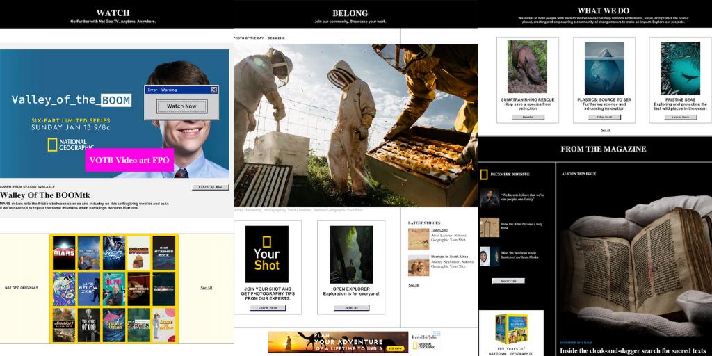 Nat Geo downgrades website to dial up era to promote tech boom drama