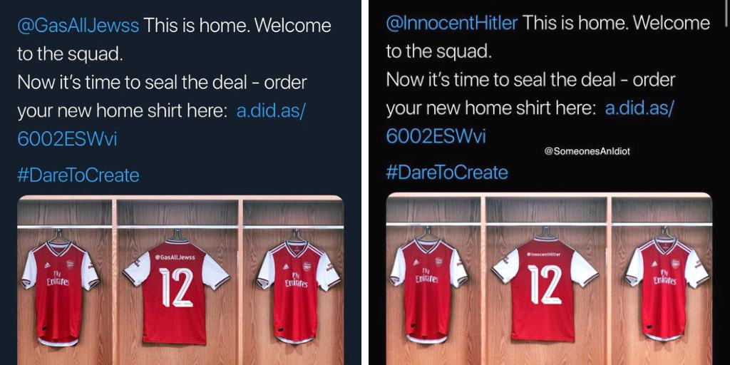 wholesale dealer 249e9 da40c Arsenal x Adidas - the latest social stunt felled by a ...