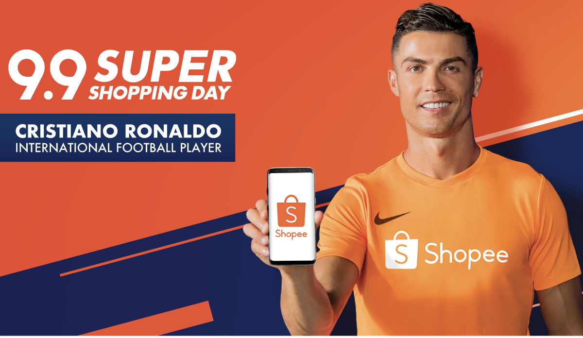Shopee x Cristiano Ronaldo   Creative Works   The Drum